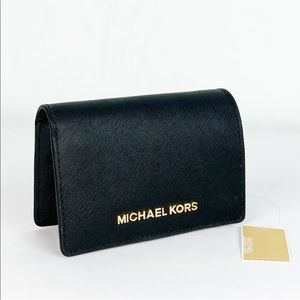 New Michael Kors Jet Set MD Slim Wallet